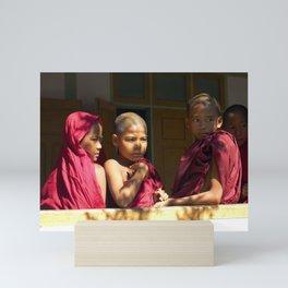 Reflections of Myamar Mini Art Print