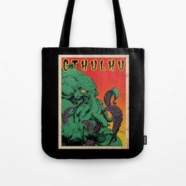 Vintage Cthulhu Tote Bag