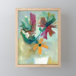 Dreamy Bouquet Framed Mini Art Print