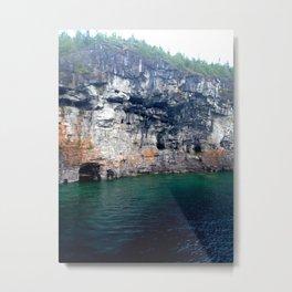 Cliff Dive  Metal Print