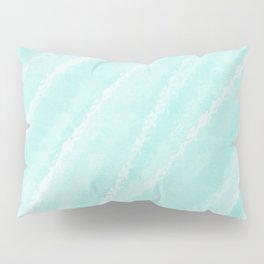 Cyan Waves Oceanside Pillow Sham