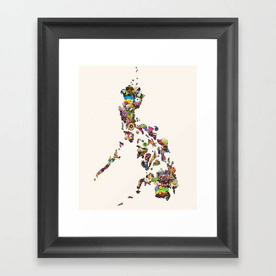 7,107 Islands | A Map of the Philippines by hque