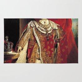 King George IV 1821 portrait Rug
