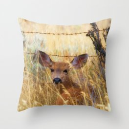 The Fawn Throw Pillow