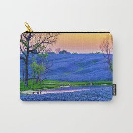 Bluebonnets Field Carry-All Pouch
