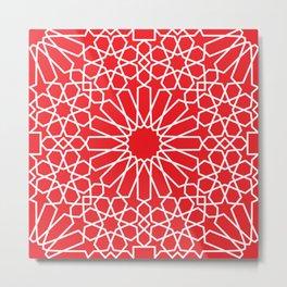 Moroccan Pattern 3 Metal Print