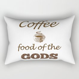 Coffee Food Of The Gods Rectangular Pillow