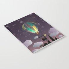 Balloon Aeronautics Night Notebook
