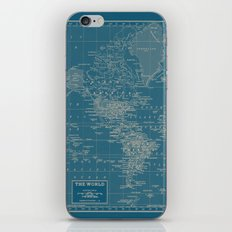 The World According to US iPhone Skin