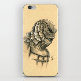 The Creature From The Black Lagoon  iPhone Skin