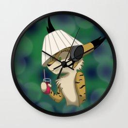 Lampshade Yuki Wall Clock
