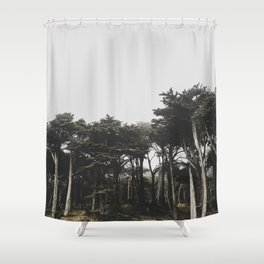 lands end Shower Curtain