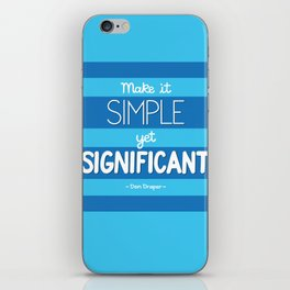 Simple Yet Significant iPhone Skin