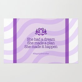 Dream, Plan and Make it Happen Rug