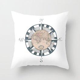 Navigation Throw Pillow