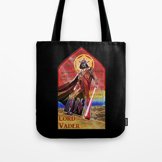 STAR WARS Stained Glass Lord Vader Tote Bag
