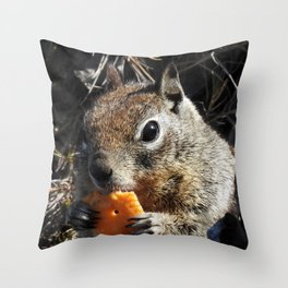 Mm Cheezy Throw Pillow