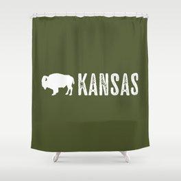 Bison: Kansas Shower Curtain