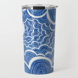 Sky Island Pattern Travel Mug