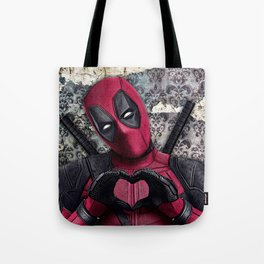 Dead pool - Sweet superhero Tote Bag