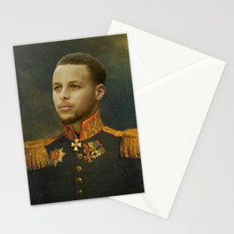Steph Curry Classical Painting Stationery Cards