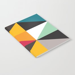 Geometric Pattern #30 (triangles) Notebook