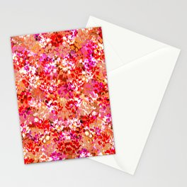 Fall Leaves (Orange) Stationery Cards