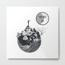 MOONMAN Metal Print