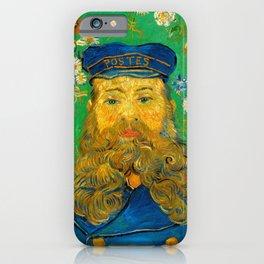 Vincent van Gogh - Portrait of Joseph Roulin (1889) iPhone Case