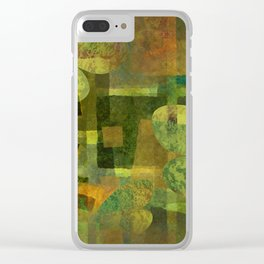 Dorado Verdiso and Butterfly Clear iPhone Case