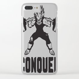 CONQUER Clear iPhone Case