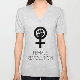 Female Revolution Unisex V-Neck