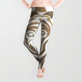Warrior Society (Wolf) Leggings