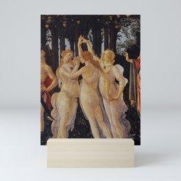LA PRIMAVERA-- SANDRO BOTTICELLI Mini Art Print