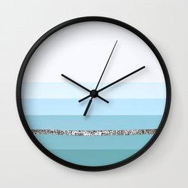 Party Stripes II Wall Clock