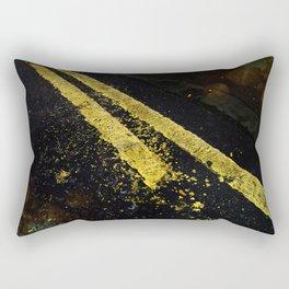 Yellow lines Rectangular Pillow