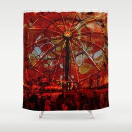 Hellish Carnival 2 Shower Curtain