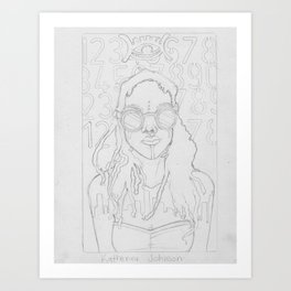 Next Katherine Johnson  Art Print
