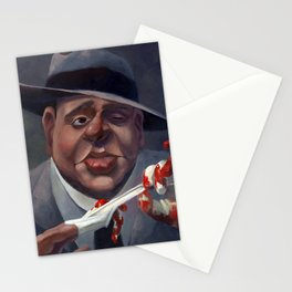 Al Capone, The Ugly. Stationery Cards
