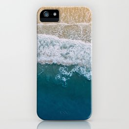 Water on the Beach (Color) iPhone Case