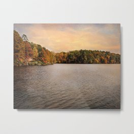 Lakeside Morning Metal Print