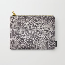 The Joy of Black and White! Carry-All Pouch