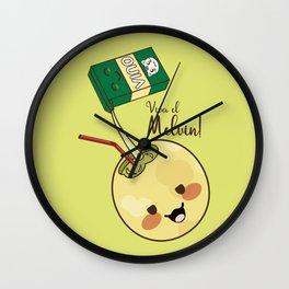 Viva el Melvin! Wall Clock