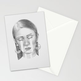 Crying for the ancestors Stationery Cards