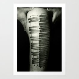 Marimba Art Print