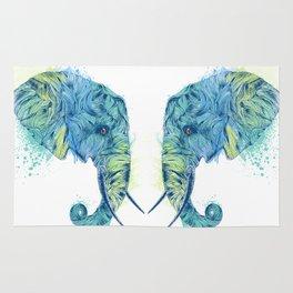 Elephant Head II Rug