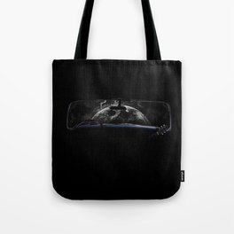 Frontside over the street Tote Bag
