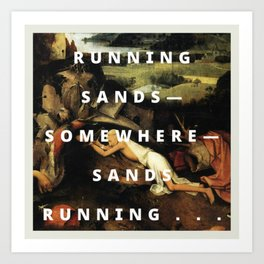 cutty sands Art Print