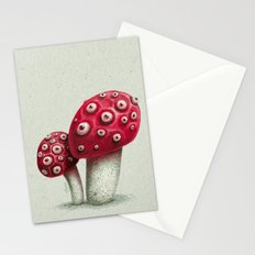 Mushroom Amanita Stationery Cards