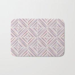 Herringbone Diamonds - Mauve Bath Mat